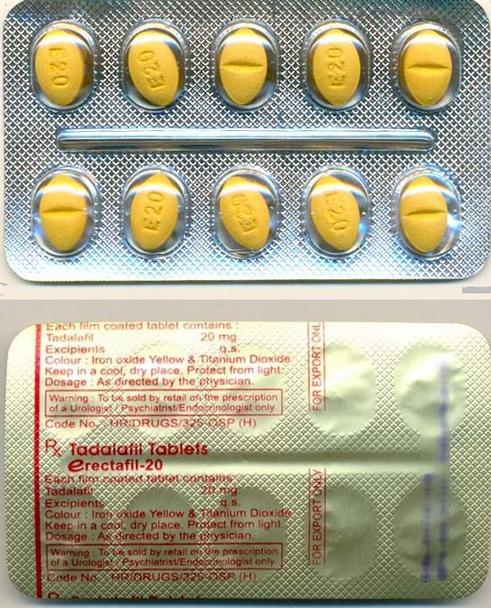 Erectafil 20 mg